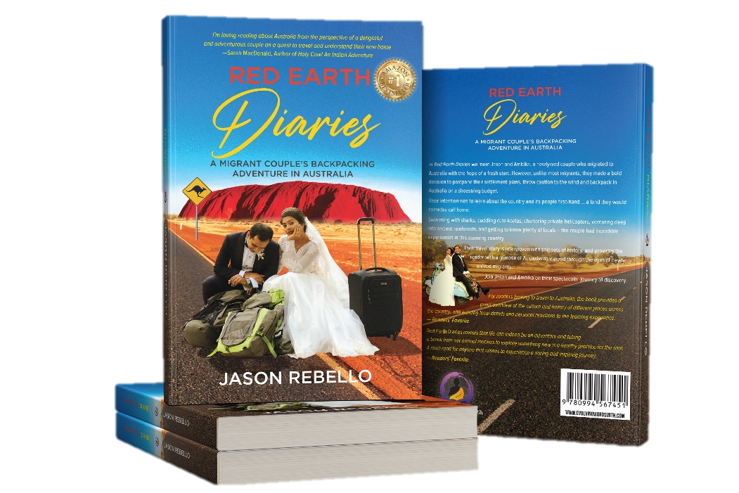 Red Earth Diaries travelogue for people who want to live their dreams